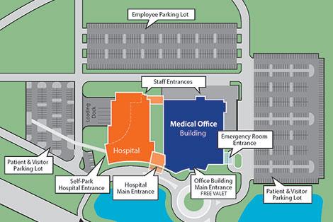 Parking Lodging Travel Patients Visitors Uf Health North